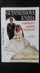 náhled knihy - Guinnessova kniha o námluvách, svatbách, manželství
