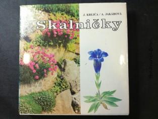 náhled knihy - Skalničky : farebný atlas najkrajších rastlín pre skalky