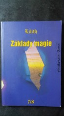 náhled knihy - Základy magie