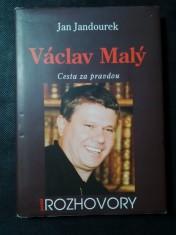 náhled knihy - Václav Malý : cesta za pravdou