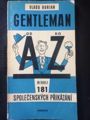 náhled knihy - Getleman od A do Z neboli 181 společenských přikázání