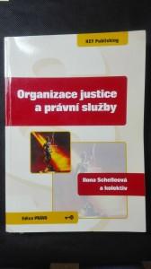 náhled knihy - Organizace justice a právní služby
