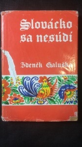 náhled knihy - Slovácko sa nesúdí