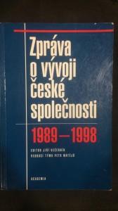 náhled knihy - Zpráva o vývoji české společnosti