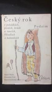 náhled knihy - Český rok, podzim