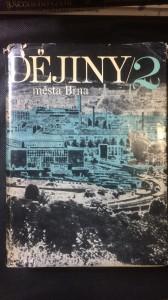 náhled knihy - Dějiny města Brna 2
