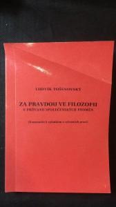 náhled knihy - Za pravdou ve filozofii