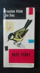 náhled knihy - Naše vtáky