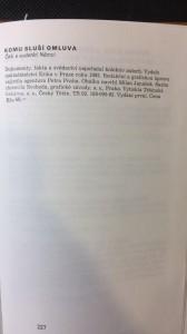 náhled knihy - Komu sluší omluva