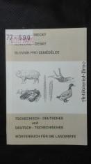 náhled knihy - Česko- neměcký, německo-český slovník pro zemědělce