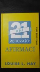 náhled knihy - 21 dní mistrovských afirmací
