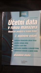 náhled knihy - Účetní data v rukou manažera, finanční analýza a řízení firmy