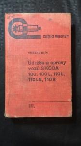 náhled knihy - Údržba a opravy vozů škoda 100,100L,110L,110LS,110R