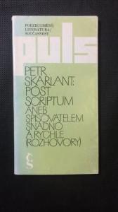 náhled knihy - Post scriptum aneb spisovatelem snadno a rychle