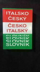 náhled knihy - Italsko český slovník