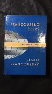 náhled knihy - Francouzsko český slovník
