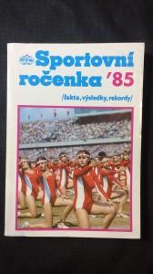 náhled knihy - Sportovní ročenka 85
