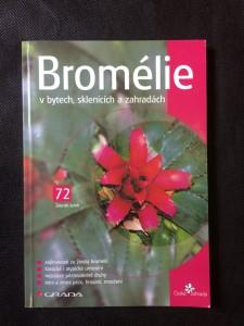 náhled knihy - Bromélie v bytech, sklenících a zahradách