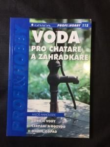 náhled knihy - Voda pro chataře a zahrádkáře