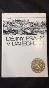 náhled knihy - Dějiny Prahy v datech