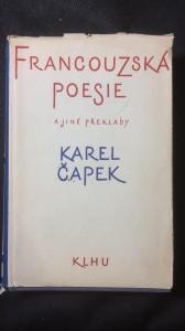 náhled knihy - Francouzská poezie a jiné překlady