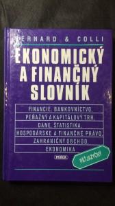 náhled knihy - Ekonomický a finanční slovník