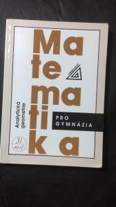 náhled knihy - Matematika analytická geometrie pro gymnázia