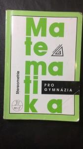 náhled knihy - Matematika stereometrie pro gymnázia
