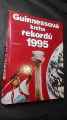 náhled knihy - Guinnessova kniha rekordů 1995