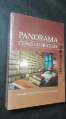 náhled knihy - Panorama české literatury: literární dějiny od počátků do současnoti