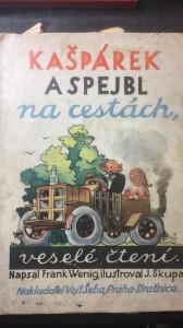 náhled knihy - Kašpárek a Spejbl na cestách
