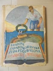 náhled knihy - Bradova západomoravská župa footballová v odboji a historii