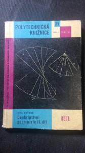 náhled knihy - Deskriptivní geometrie 2. díl