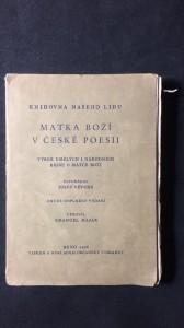 náhled knihy - Matka boží v české poesii