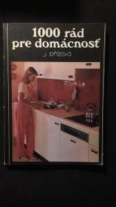 náhled knihy - 1000 rád pre domácnost