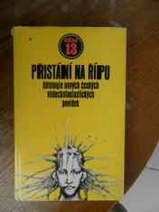 náhled knihy - Přistání na Řípu : antologie nových českých vědeckofantastických povídek