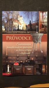 náhled knihy - Průvodce staroslavným benediktinským opatstvím sv. Petra a Pavla v Rajhradě