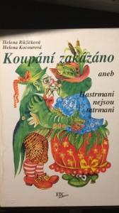 náhled knihy - Koupání zakázáno
