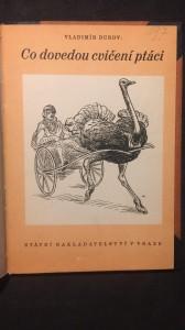 náhled knihy - Co dovedou cvičení ptáci