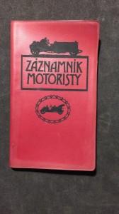 náhled knihy - Záznamník motoristy