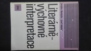 náhled knihy - Literárně-výchovné interpretace