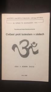 náhled knihy - Cvičení proti bolesti v zádech