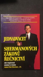náhled knihy - Jednadvacet Shermanových zákonů řečnictví