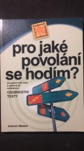 náhled knihy - Pro jaké povolání se hodím? osobnostní testy