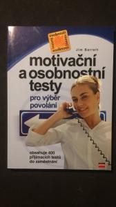 náhled knihy - Motivační a osobnostní testy pro výběr povolání