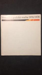 náhled knihy - Slovenská grafická tvorba 1970/1978
