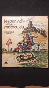náhled knihy - Jezdíme na malém motocyklu