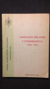 náhled knihy - Varšavská smlouva v dokumentech (1954-1970)