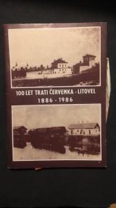 náhled knihy - 100 let trati červenka- Litovel 1886-1986