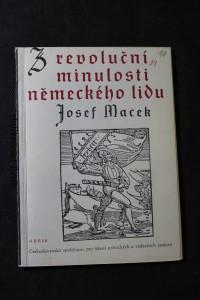 náhled knihy - Z revoluční minulosti německého lidu : Tomáš Müntzer a německá selská válka